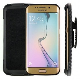 Stötsäkert skal med hölster Galaxy S6 Edge