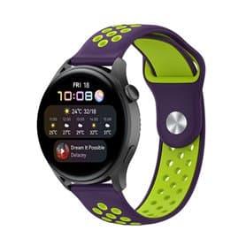 EBN Sport Armband Huawei Watch 3 - Lila/grön
