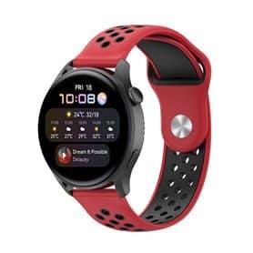 EBN Sport Armband Huawei Watch 3 - Röd/svart