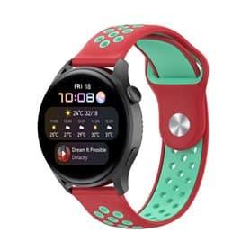 EBN Sport Armband Huawei Watch 3 - Röd/mint