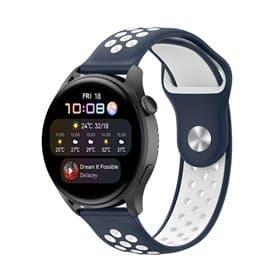EBN Sport Armband Huawei Watch 3 - Navy/vit