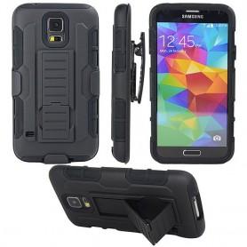 Stötsäkert skal med hölster Galaxy S5 Mini