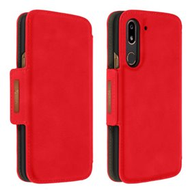 Doro 8080 Wallet Case - Röd