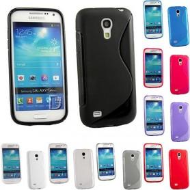 S Line silikon skal Galaxy S4 Mini