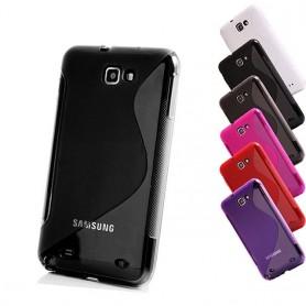 S Line silikon skal Galaxy Note 1