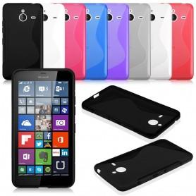 S Line silikon skal MS Lumia 640XL