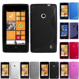 S Line silikon skal Nokia 520