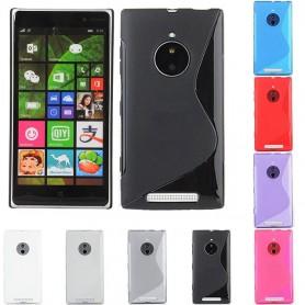S Line silikon skal Nokia Lumia 830