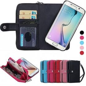 Mobilväska 2 i 1 Galaxy S6 Edge