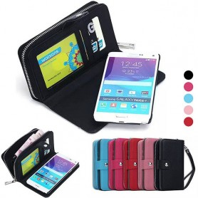 Mobilväska 2 i 1 Galaxy Note 4