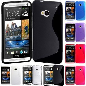 S Line silikon skal HTC ONE M7
