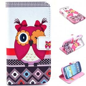Mobilplånbok Uggla Galaxy S3