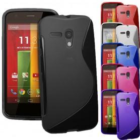 S Line silikon skal Motorola Moto G