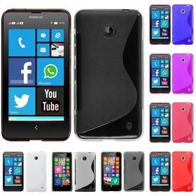 S Line silikon skal Nokia 630/635