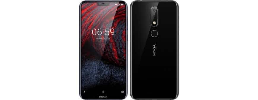 Köp mobilskal och skydd till Nokia 6.1 Plu (TA-1083) hos CaseOnline.se